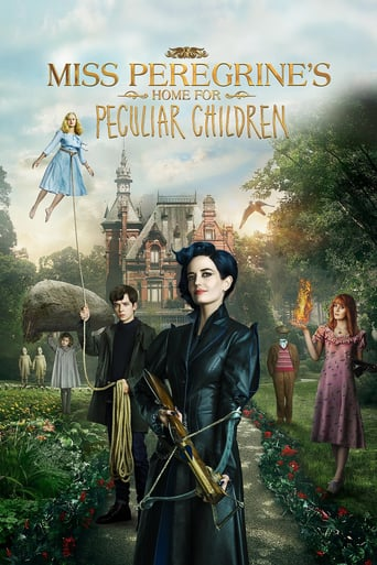 Leffajuliste elokuvalle Miss Peregrine's Home for Peculiar Children