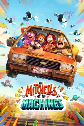 Leffajuliste elokuvalle The Mitchells vs the Machines