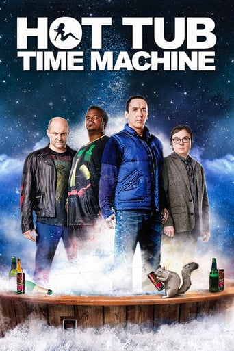 Leffajuliste elokuvalle Hot Tub Time Machine
